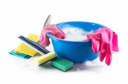 Seau et autres produits de ménage