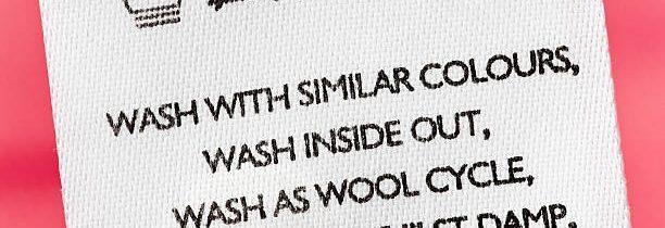 Comment lire l'étiquette de lavage sur les vêtements ?